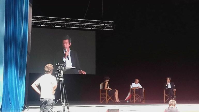 Il ministro della Giustizia Andrea Orlando alla festa del Fatto quotidiano (ph. In24/M. Parrini)