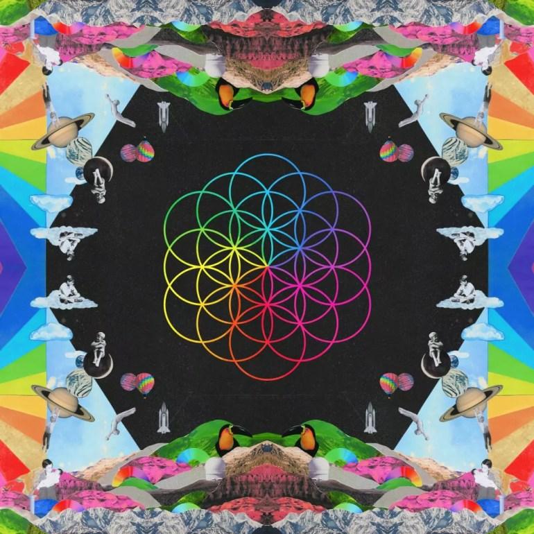 La cover di A head full of dreams, realizzato dai Coldplay nel 2015.