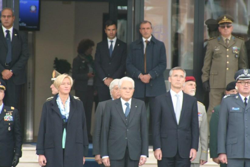Il Presidente Sergio Mattarella in visita al Nato Defense College di Roma