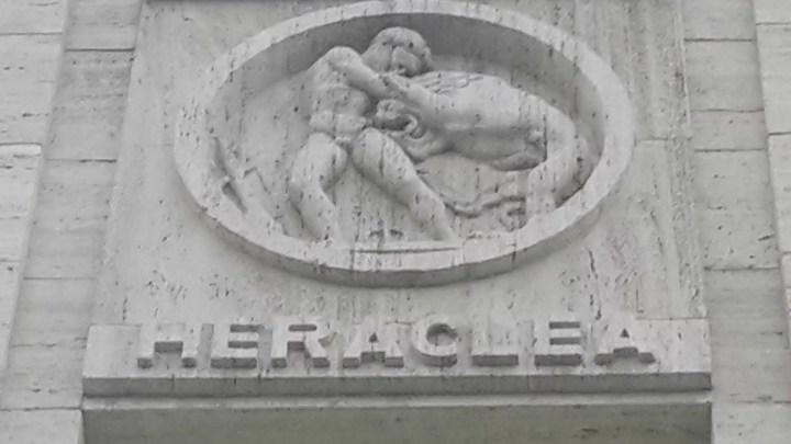 Marc museo archeologico Reggio Calabria, facciata Palazzo piacentini