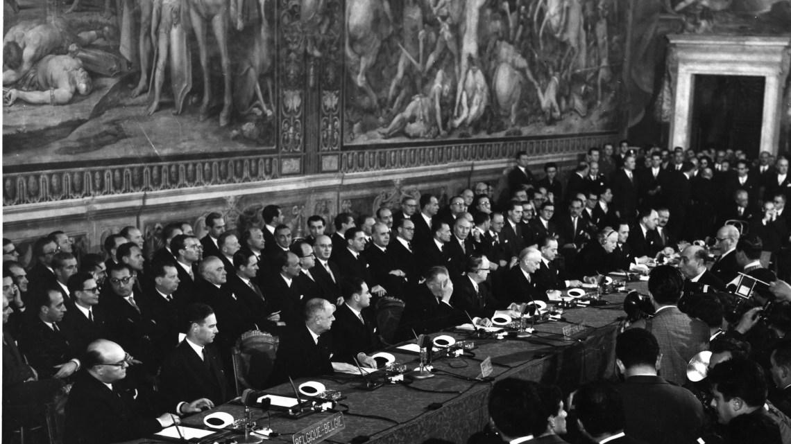 Europa Trattati di Roma 1957 anniversario