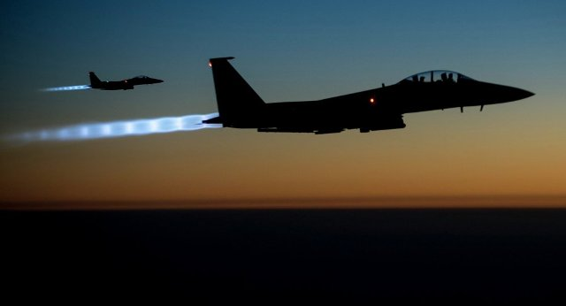Usa raid aerei al quaeda siria