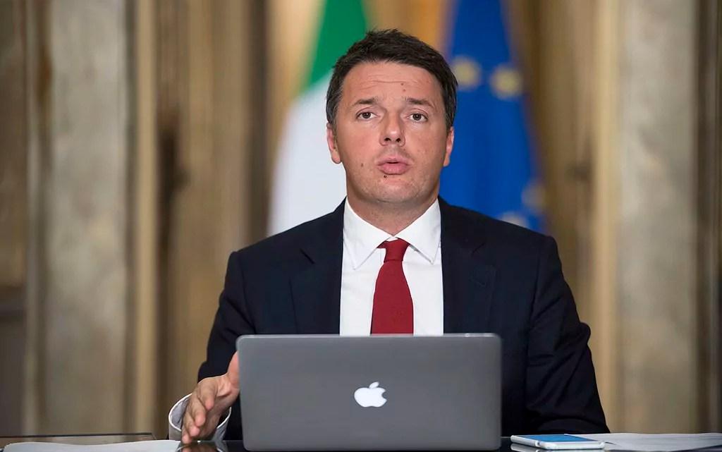 Scissione del Pd Matteo Renzi
