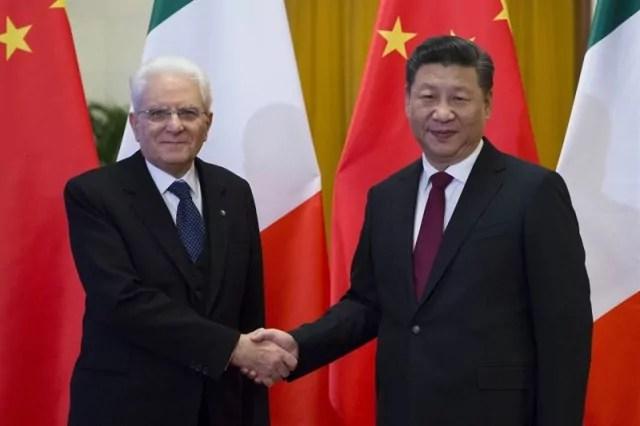 Cina Mattarella Xi Jinping
