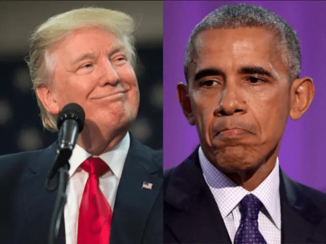 Donald Trump Barack Obama obamacare
