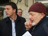 Affaire Consip, Matteo Renzi con il padre Tiziano (ph. Agenpress).