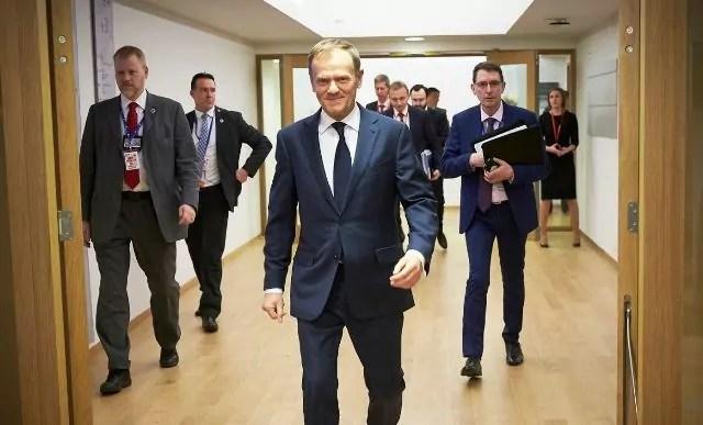 Tusk Consiglio europa presidenza