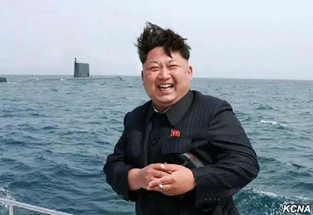 Corea del nord Kim Jong Un lancio missili