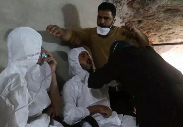 Siria bombe chimiche