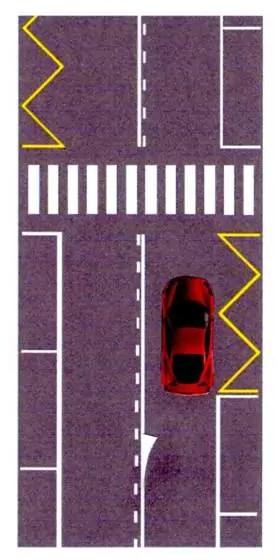 Rappresentazione grafica dell'INdicatore di tenuta, altro segnale utile ad aumentare la sicurezza stradale (ph. F. Bergamo).