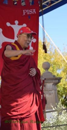 Il Dalai Lama a Pisa (ph. In24 / P. Russo).