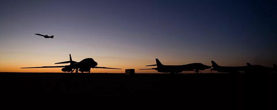 Nord Corea, gli Usa mandano i bombardieri B1-B (ph. Boeing)