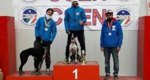 canicross campionato italiano Csen podio maschle