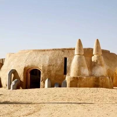 Il set del film Star Wars in Tunisia