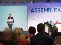 Assemblea Pd Martina Renzi