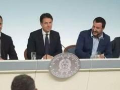 conferenza stampa governo def