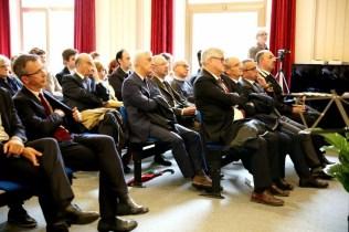 La cerimonia di intitolazione del Digital Storytelling Lab al liceo Stellini di Udine.