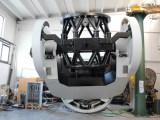 Il telescopio Flyeye che Asi e Esa installeranno in Sicilia per dar la caccia agli asteroidi (ph. Esa).