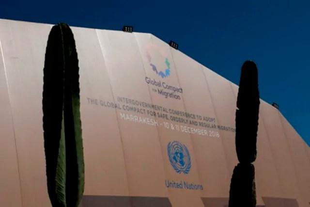 La sede della Conferenza Onu sul Global Compact for Migrants a Marrakech inMarocco (Ph. Un/Mark Garten).