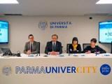La conferenza stampa di presentazione del Corso avanzato di Cinema documentario e sperimentale dell'Università di Parma.