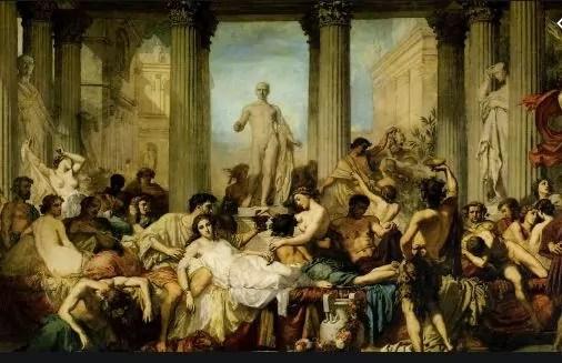 Thomas Couture caduta impero romano