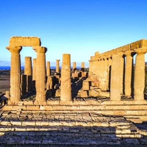 Agrigento Valle dei Templi Tempio di Giunone