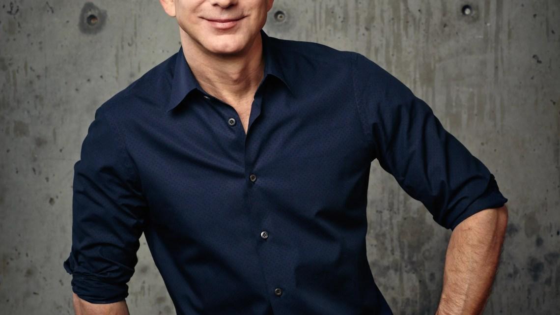 Jeff Bezos, ceo di Amazon.