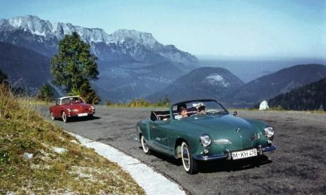 La Volkswagen Karmann Ghia Type 14 Coupé (dal 1955 al 1974) e Cabriolet (dal 1957 al 1974).