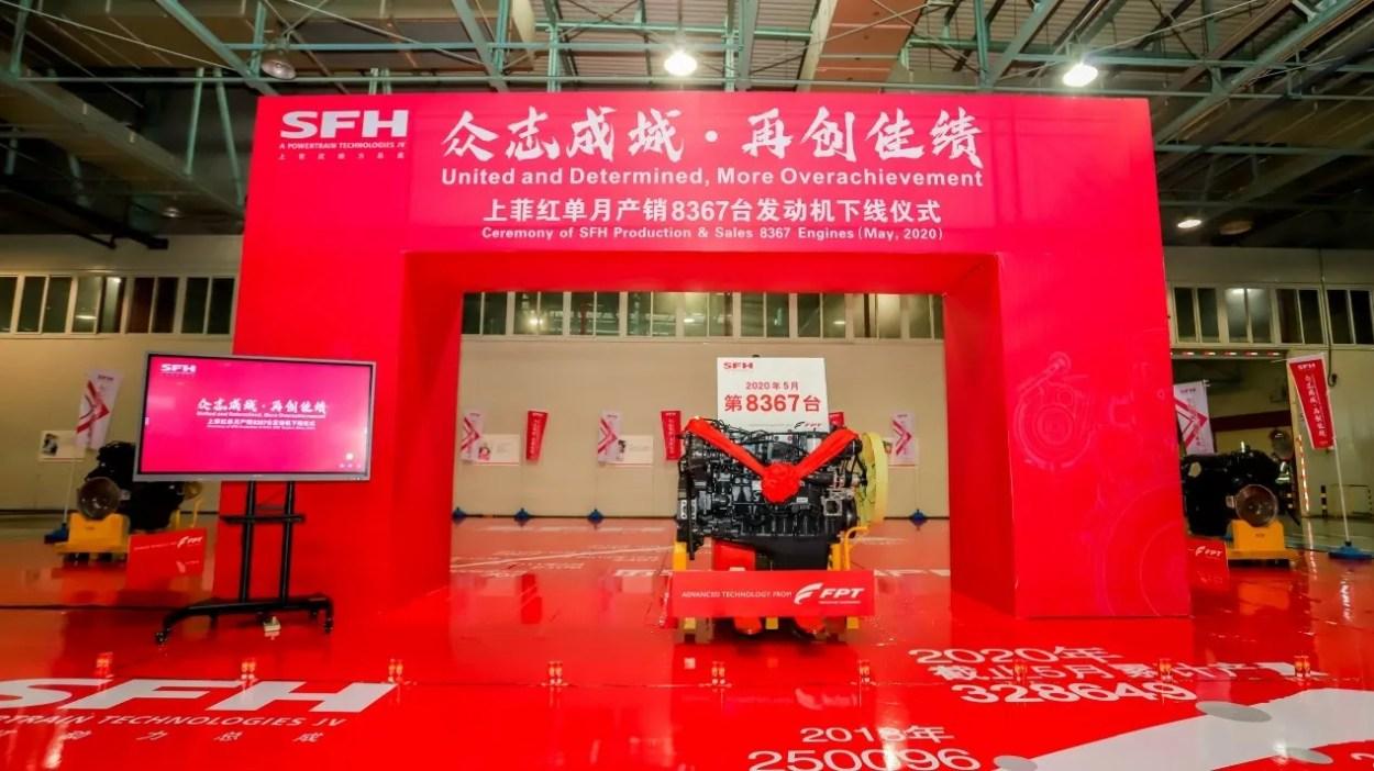 motori prodotti da SFH joint venture in Cina di Ftp International