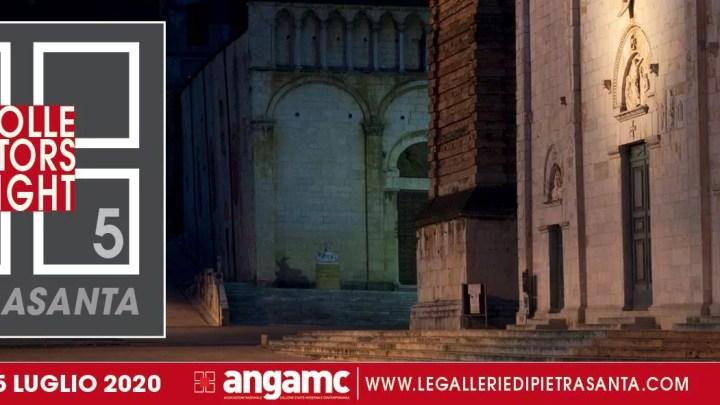 Pietrasanta (Lucca), il 25 luglio 2020 sarà capitale del collezionismo, grazie alla Collectors Night, V edizione della notte più amata dai collezionisti di arte contemporanea.