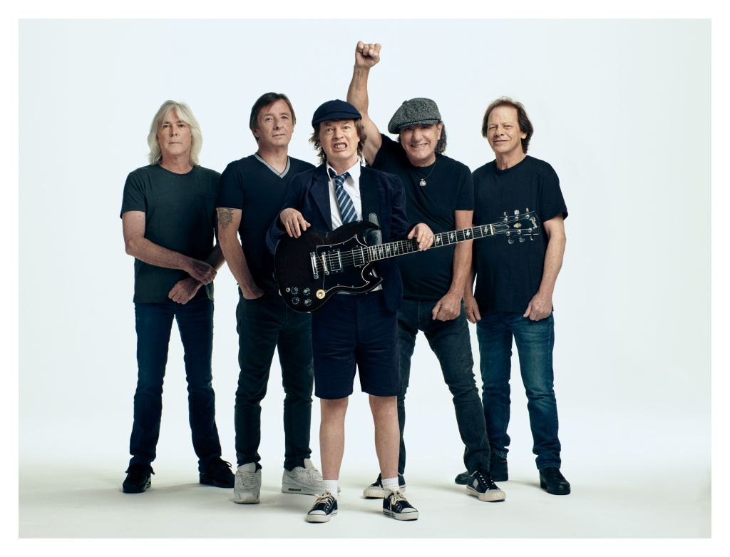 Gli AC/DC, i signori dell'Heavy Metal (ph. Josh Cheuse).