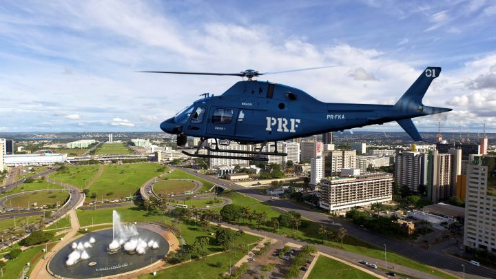 La Polícia Rodoviária Federal (PRF) del Brasile, la Polizia Stradale Federale, riceverà da Leonardo 6 elicotteri monotore AW119Kx. #Leonardo #Aw109