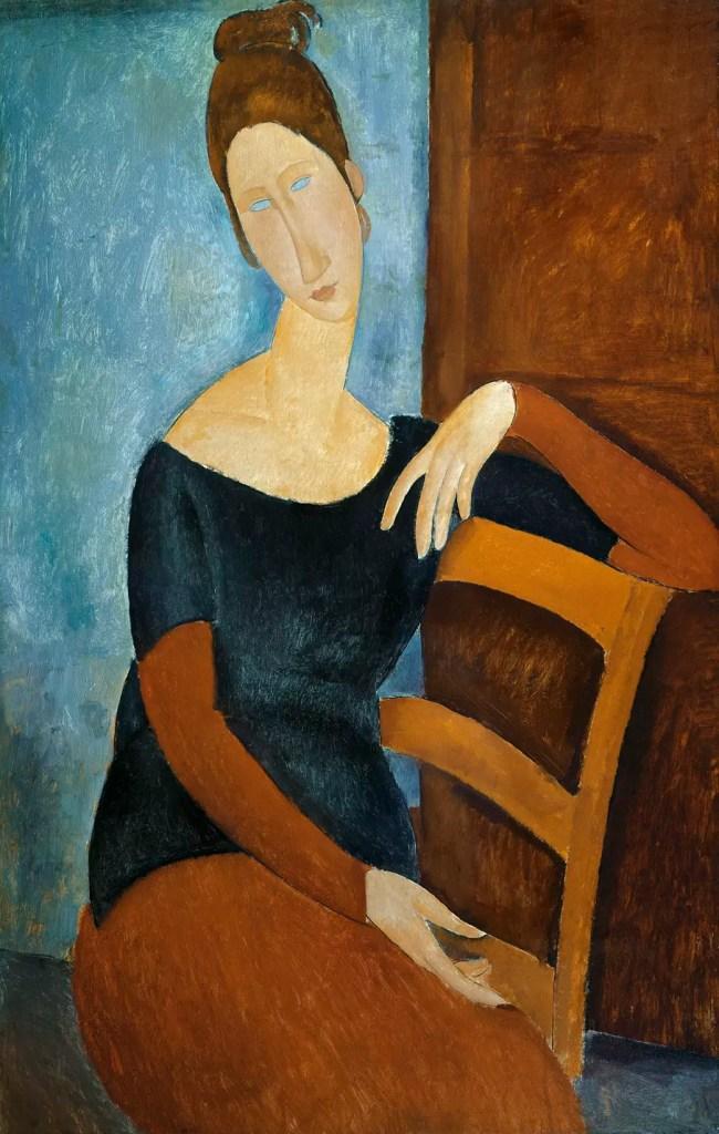 Portrait de Jeanne Hébuterne au fauteuil