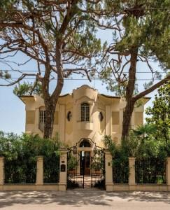 Villa Antolini a Riccione (foto Riccardo Gallini / InMagazine).