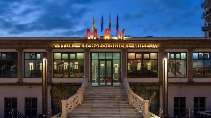 Esterno del Museo Archeologico Virtuale - Mav di Ercolano (ph. Cives - Mav).
