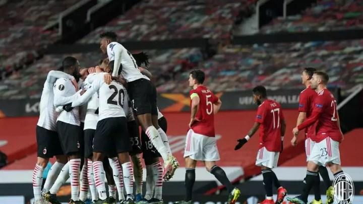 Europa League: Milan 1 - 1 Manchester United. Rossoneri convincenti, ma non vanno oltre il pari all'Old Trafford. (credit AC Milan Official Website Fotogallery)