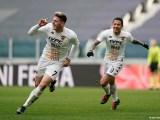 28 Giornata, Serie A: Juventus 0 - 1 Benevento. Impresa giallorossa allo Stadium: Juve sconfitta grazie al gol di Gaich. (credit Benevento Calcio Official Website, Mario Taddeo)