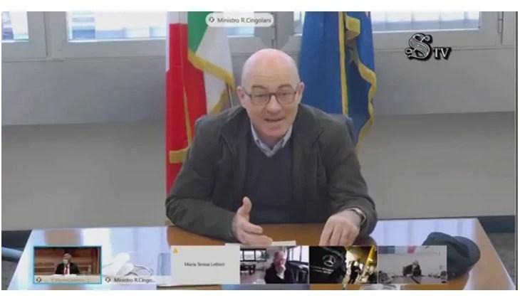 Roberto cingolani minisrto transizione ecologica