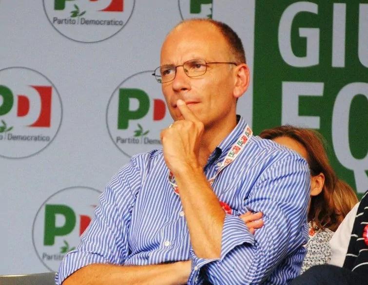 Enrico Letta (foto Salvatore Contino).