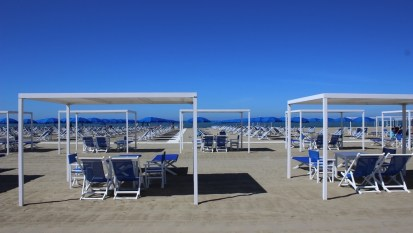 Pietrasanta, la spiaggia