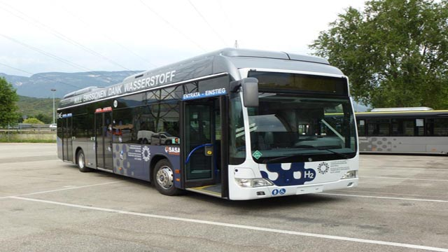 Autobus a idrogeno