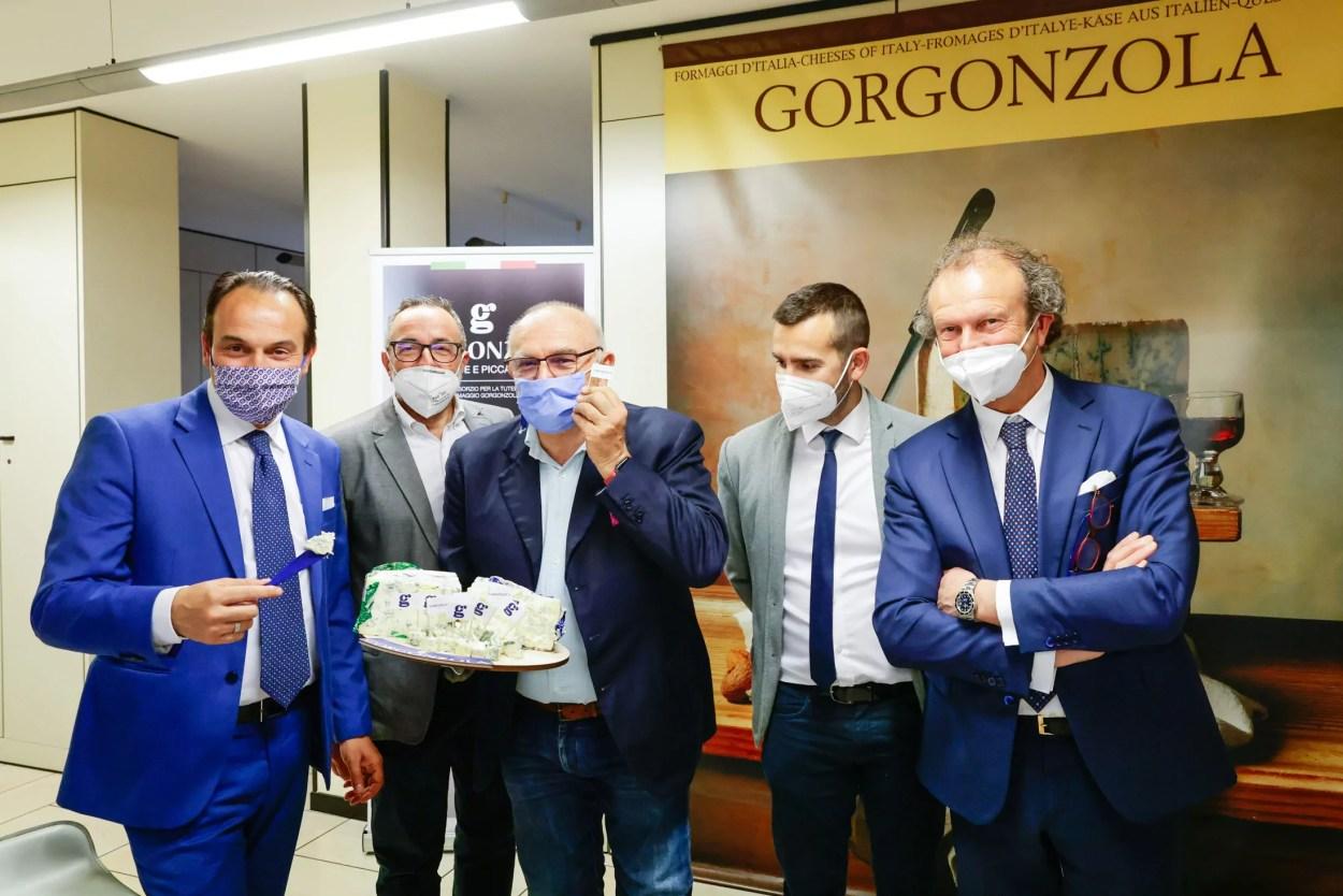 Gorgonzola dop Alberto Cirio Antonio Auriccio
