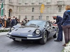 Dino 246 GT del 1972 (foto C. Carugati / In24).