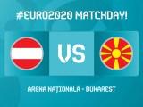 Austria-Nord Macedonia: debuttano a Bucarest i macedoni, per la prima volta in una fase finale di un torneo internazionale. (credit Euro 2020 Official German Twitter Account)