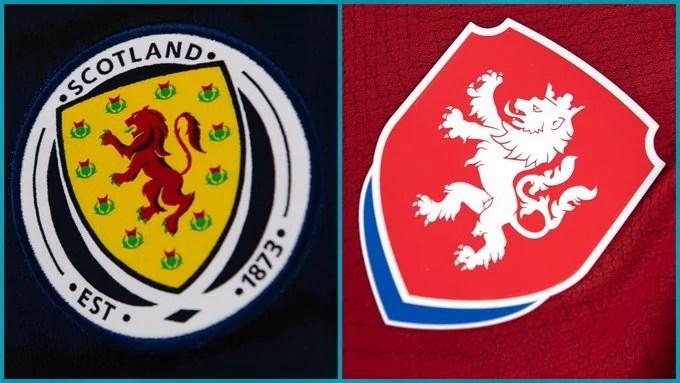 Scozia-Repubblica Ceca: a Glasgow la Scozia fa il suo debutto nel girone con i rivali britannici. La prima partita contro la Repubblica Ceca. (credit Euro 2020 Official Twitter Account)