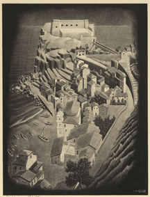 M. C. Escher, Scilla bool