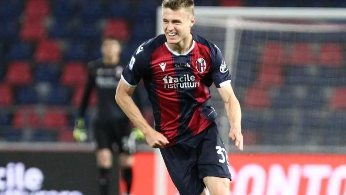 Bologna-Verona: decide Svanberg per i rossoblù il posticipo del Monday Night.