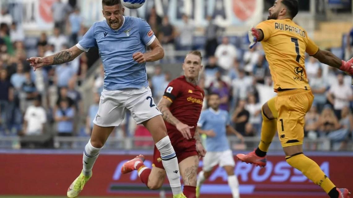 Lazio-Roma, 3-2: derby spettacolo, vince la Lazio fra le proteste. Milinkovic apre di testa, poi un immenso Immobile aiuta le reti di Pedro e Anderson. Per la Roma, a segno Ibanez e Veretout.