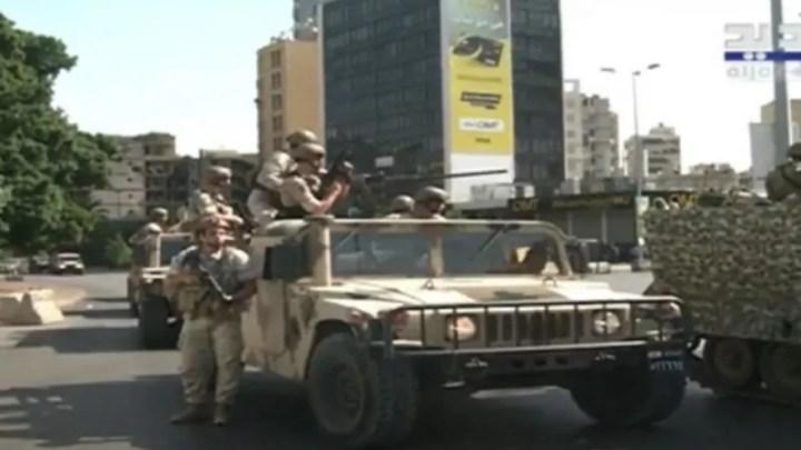 Libano esercito NNA