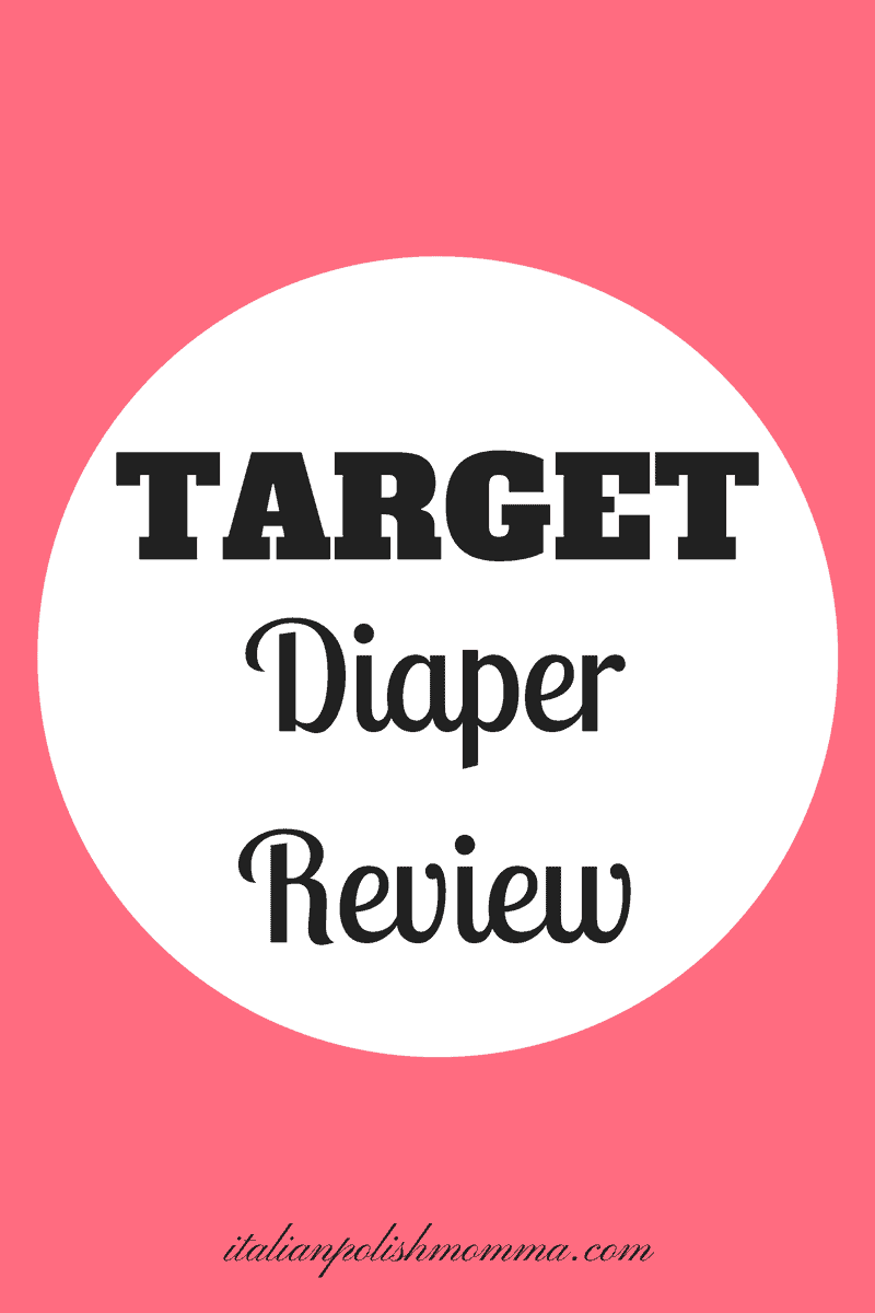 Target brand Up & Up Diaper Review